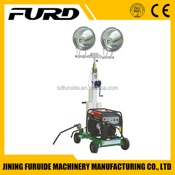 5m Portable Telescopic Mast Emergency Lighting Tower (FZM-1000A)