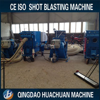 Asphalt pavement marker line cleaning machine / Concrete floor shot blasting machine