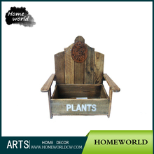 Chair Shape Garden And Home Mini Special Flat Flower Pot