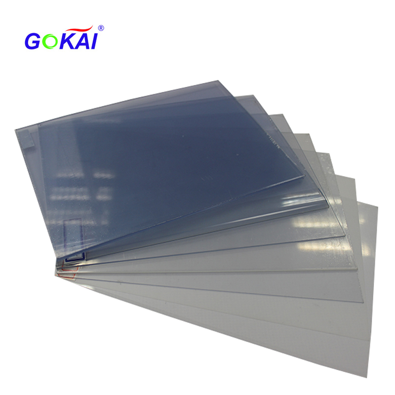 made in China 0.8mm photo album pvc rigid sheet