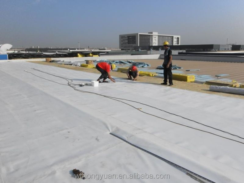 building waterproof PVC roof membrane