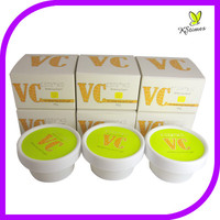 Natural Vitamin C skin brightening anti-freckly spots removal name of whitening cream