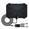 TV Antenna for Digital TV Indoor Digital HDTV Antenna Long Range with Amplifier Signal Booster - 16 Feet Coax Cable