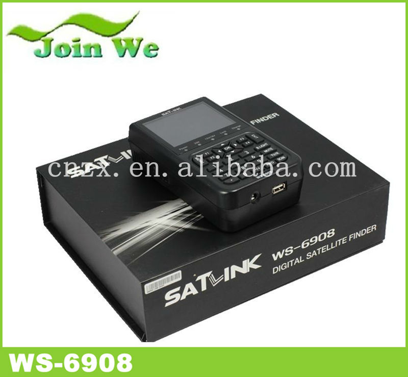 salink ws 6908 Digital TV Satellite Finder Sat Finder ws-6908 signal strength meter