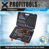"150pcs 1/4""&3/8""&1/2"" high quality car repair tool kit"