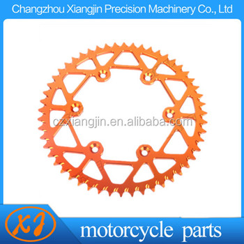 7075T6 CNC aluminum alloy sprockets for sale