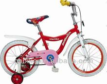 16'' kids'bike ,colorful kids' bike for girls,four wheel cycling