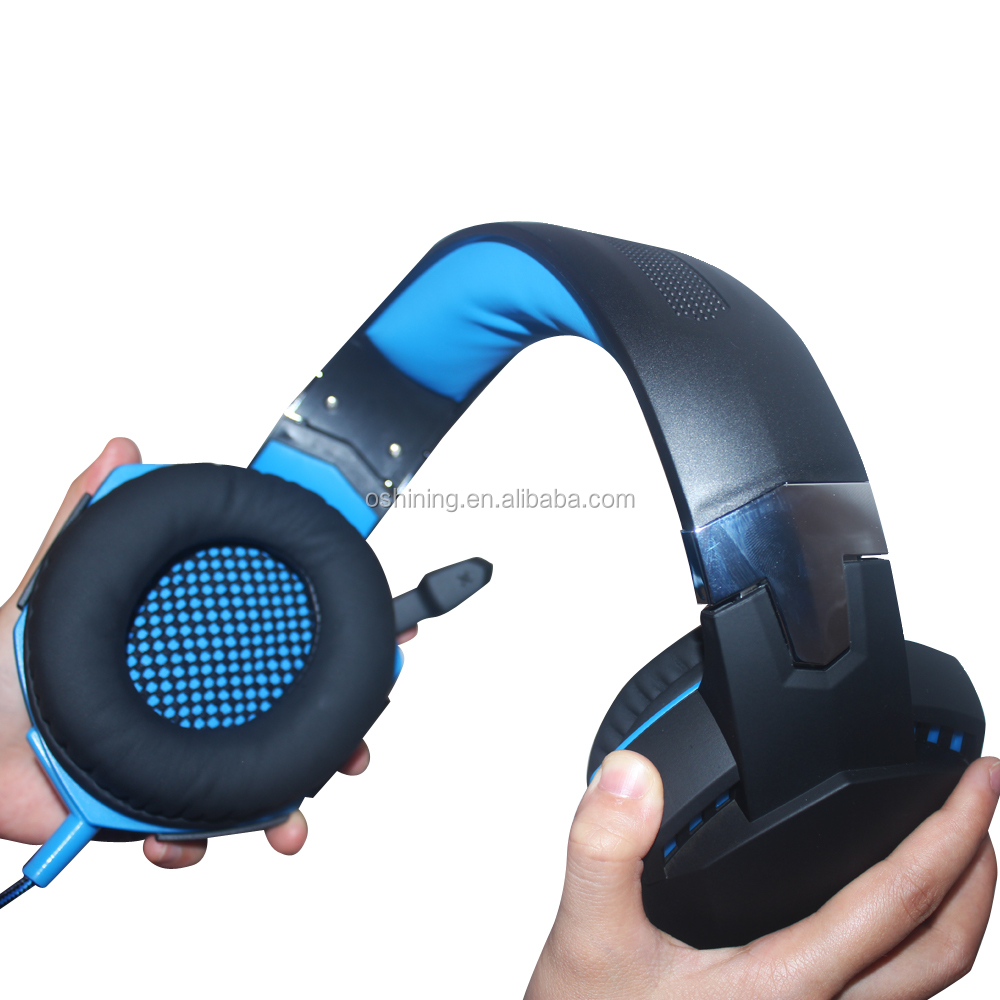 ShenZhen Wholesale G2000 Headset Comfortable USB Game Headphone Stereo PC Wired Headset Headphone