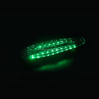 "Fish Skateboard LED Light Up Plastic 22"" Retro skateboard"