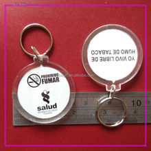 High Quality plastic photo keychain photo viewer