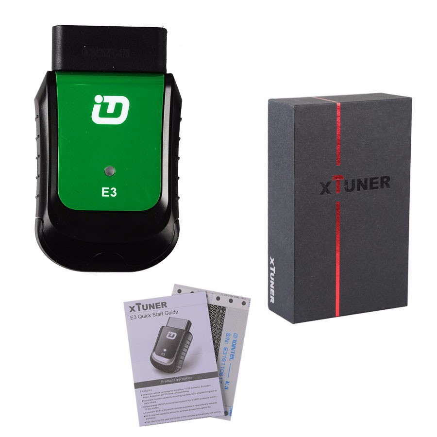 2017 Newest V8.1 XTUNER E3 EasyDiag Wifi Diagnostic Tool For DTC ABS SRS Airbag Crash Data EPB DPF Reset