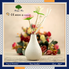 Factory price scented potpourri flower ceramic bottle aroma reed diffuser