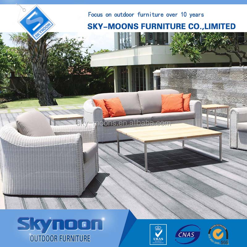white color comfortable outdoor furniture, jardin garden furniture(sf033)