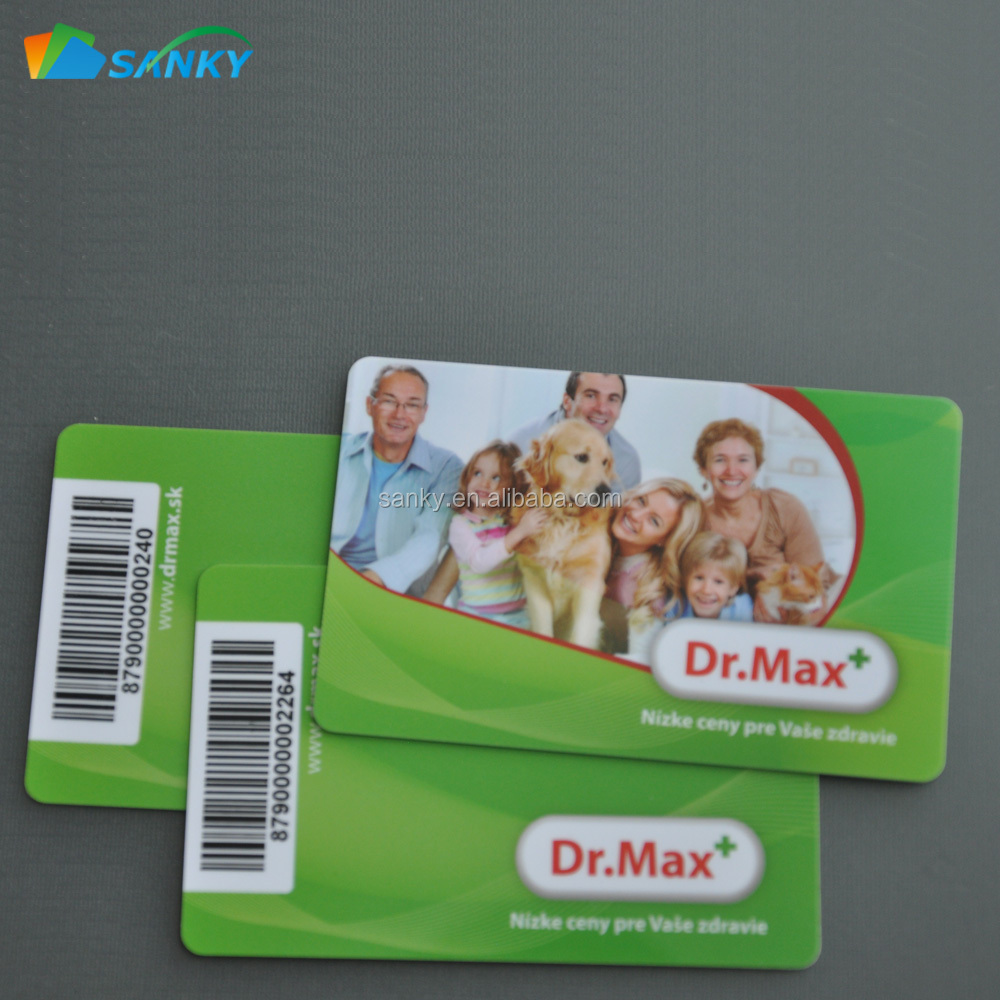 Credit Card Size Printed CR 80 Full Color Plastic PVC Card Printing