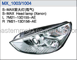 HEAD LAMP OF FROD S-MAX/7M21-13D155-AE/7M21-13D156-AE