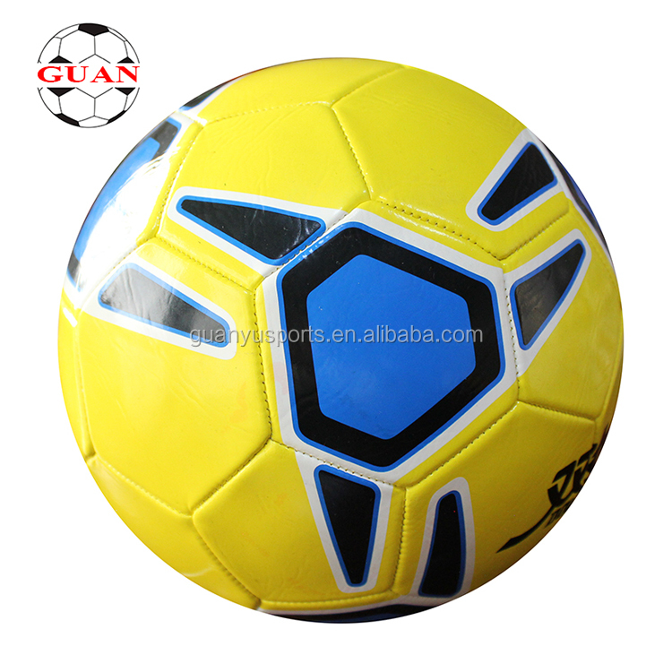 PVC Machine Stitched Futbol/Promotional Soccer Ball Customized <strong>Football</strong>