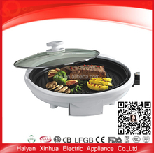 Home useful kitchen cooking round cast aluminum hot plate for grill