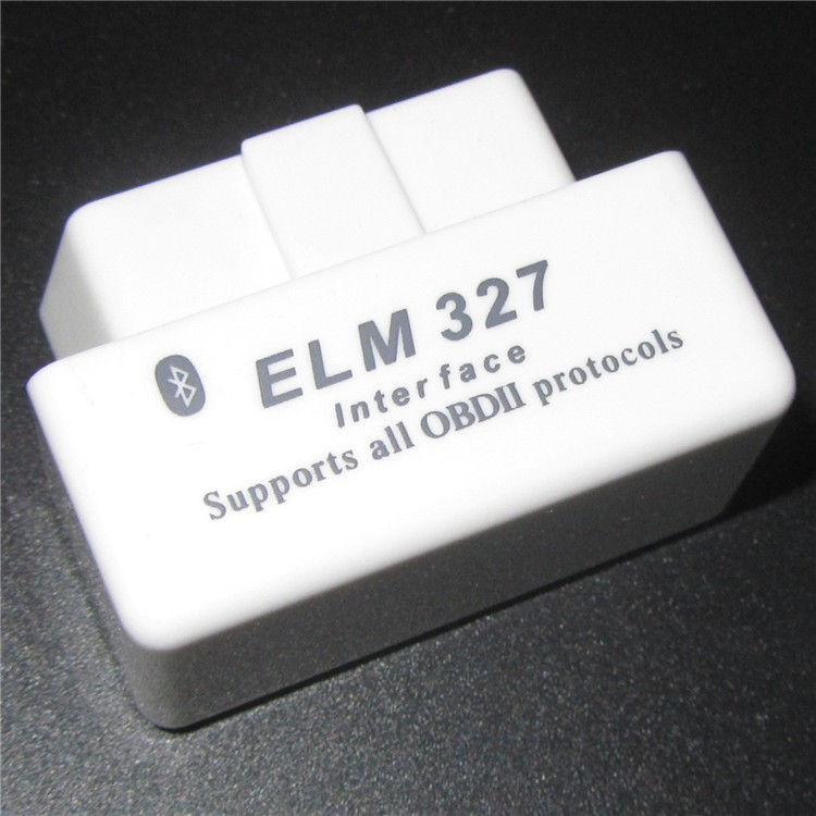 SUPER MINI ELM327 Bluetooth OBD2 V2.1 White Smart Car Diagnostic Interface ELM 327 Wireless Scan Tool