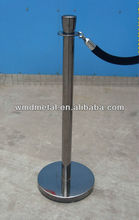 New arrival black chrome roll up barrier LG-9-G crow control barrier for hotel and bank
