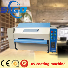 SG-358 2017 newest digital desktop mini UV liquid laminator/UV coating machine/UV varnish embossing machine for photo protection