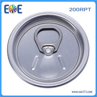 Singapore RPT 200# 50mm Pop-top end for beverage can