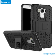 Gold Supplier With Stand Plastic Shockproof Hybrid Armor Phone Case For Asus Zenfone 3 Max 5