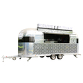 big wheels food van for sale/mini mobile food carts /street food vending trailer