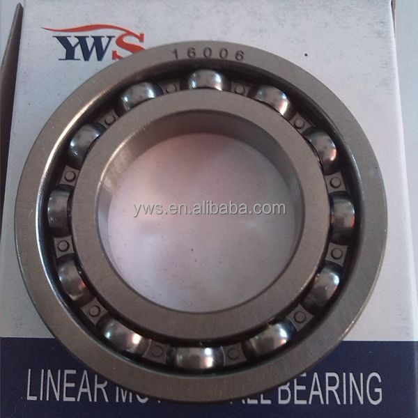 garden equipment bearing 30x55x9 30 55 9 Groove Ball Bearing 16006