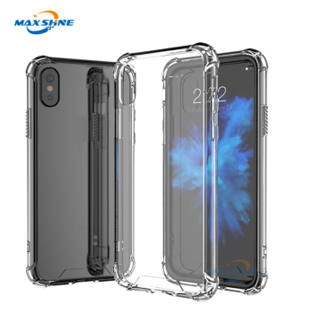 2018 TPU Silicon transparent Clear Mobile Phone Case For Xiaomi Mi 6X Redmi Note 5 Pro case