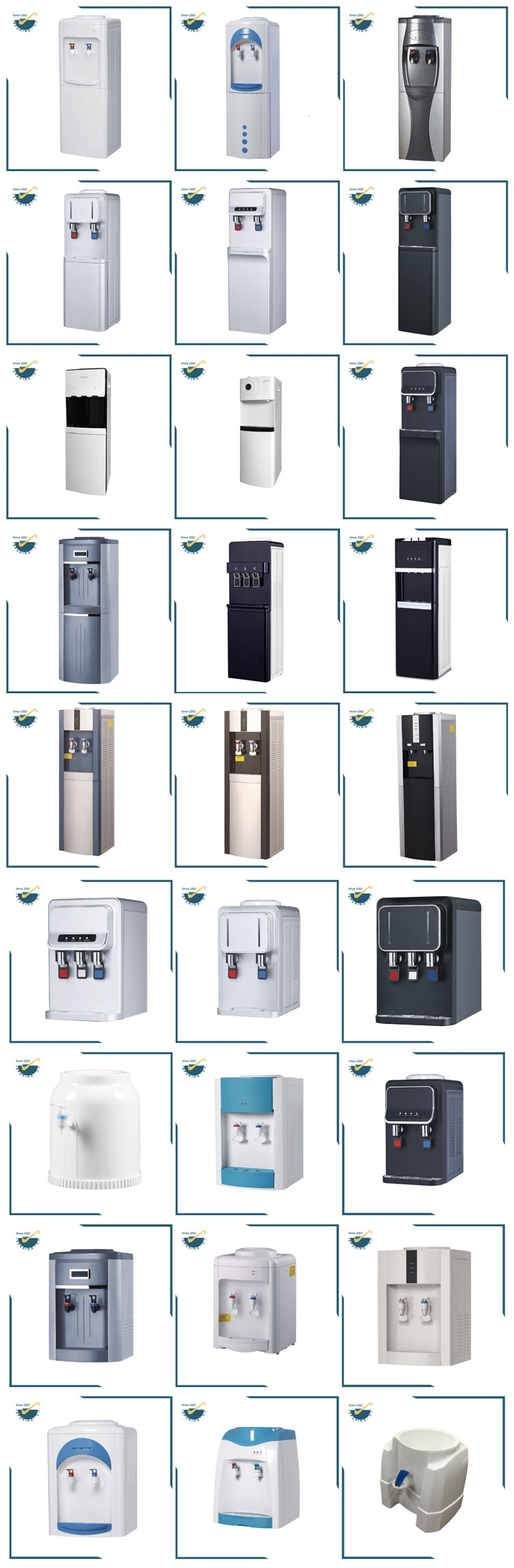 Good design personal decorative used water dispenser coolers