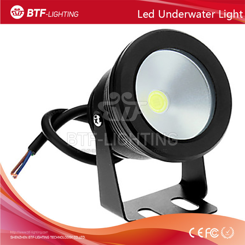 10W 85-265V swimming pool led underwater light Waterproof pool light White/Warm White/Cold White Changeable with Plain mirror