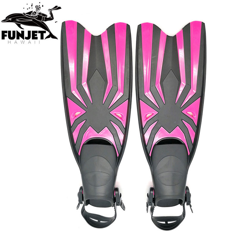 Adult Snorkeling Diving Swimming Fins Trek for Professional Diver 3 Colors M XL L Sizes Swimming Flipper Diving Fins