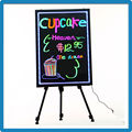 60x80cm led writing boards outdoor moving advertising electronic fluorescence plates