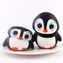 Factory Wholesale PU Foam Squishy Toys Animals Jumbo Slow Rising Penguin Squishy