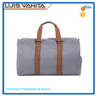 Sports Duffle Bag Fancy Travel Duffel Bag with Shoe Compartment