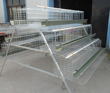 3 tiers/ 4 tiers layer chicken cage for folding