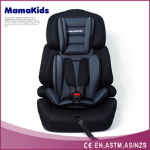 European standard wholesale foldable portable baby car seat for Group 1,2,3 (from 9kgs - 36kgs)