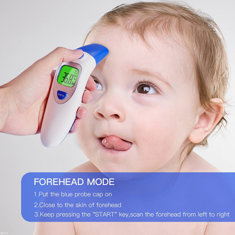 Digital Forehead and Ear Thermometer- Instant Reading Baby Thermometer, FDA Approved Digital Infrared Thermometer for Baby
