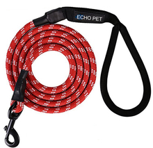 Round rope dog leash personalized dog leash
