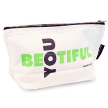 Manufacture premium quality canvas make up shopping bag