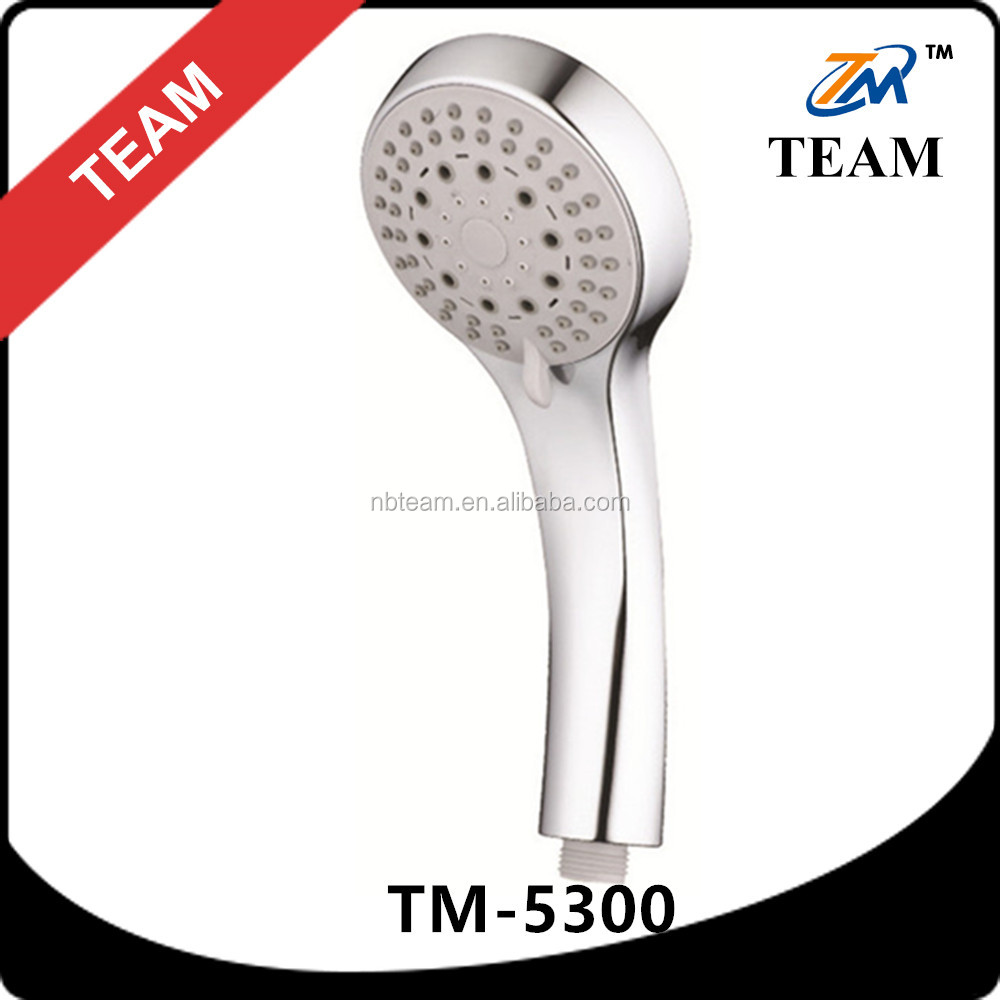 TM-5300 bathroom shower accessories good quality ABS plastic 5function european shower head