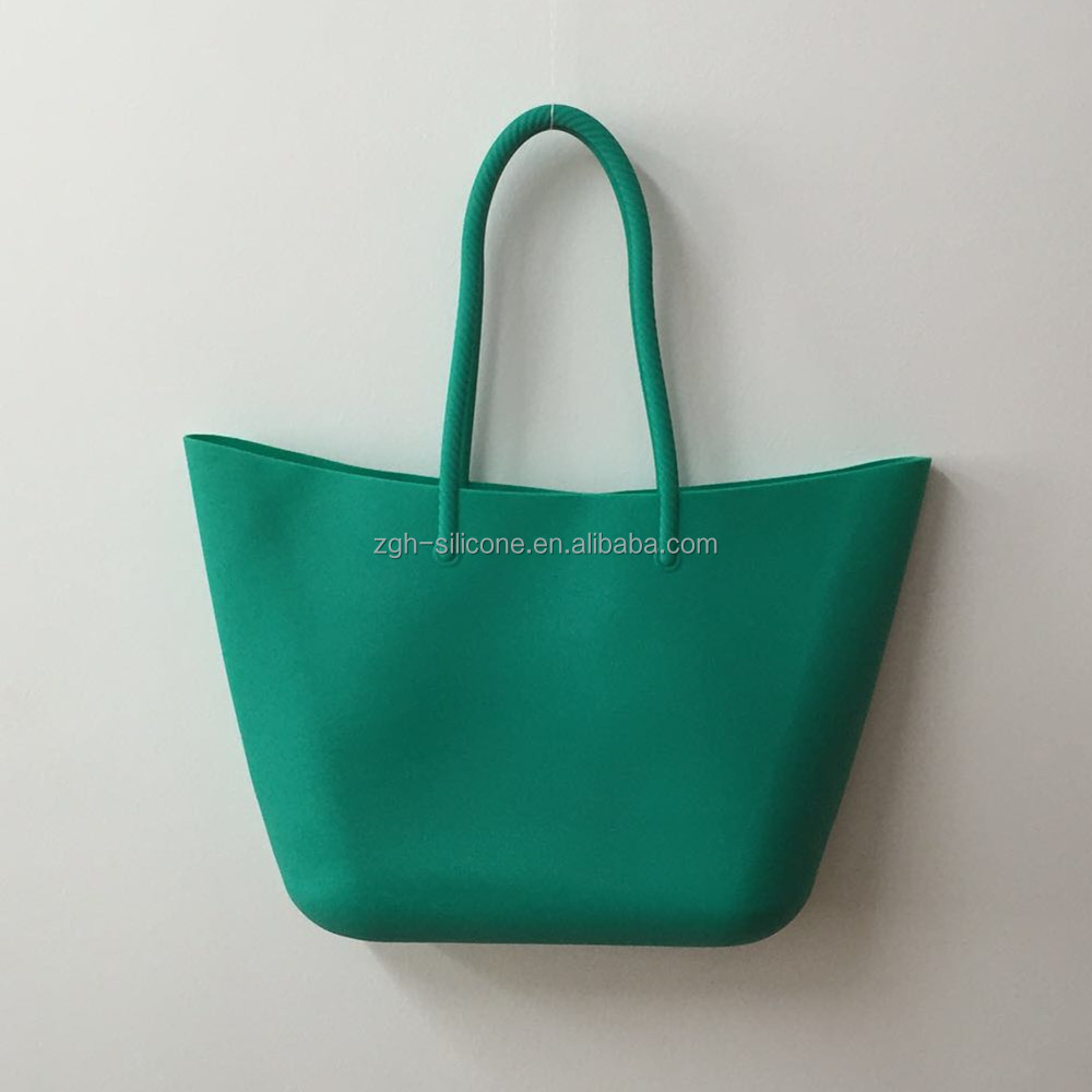 Wholesale Silicone Tote Beach Shoulder Bag Shopping Bag Various Colours