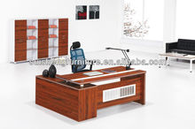 guangzhou modern boss desk laminated wood office executive table adminstrative desk furniture manufacture B002