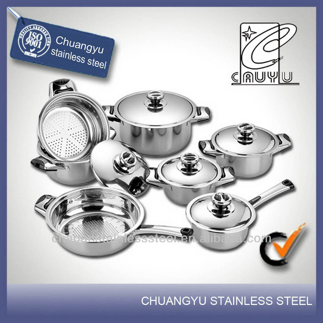 stainless steel new mayer house cookware