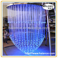optic fiber led chandelier crystal light for living room