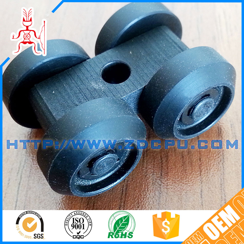 Injection molding engineering plastic round belt pulley