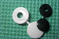 Chinese manufacture plastic cover screw ,fit hole size M4 M5 M6.
