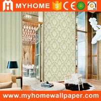 Home Decor 3d Textured Interior Damask Beautiful Wall Paper