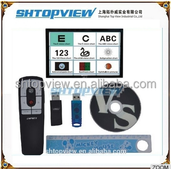 CP-27B With Remote Control Independent Copyright Optometry Auto Chart Projector Vision Chart Software