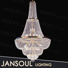luxury modern large shinning french empire light crystal chandelier